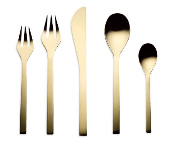 Golden Silverware blog for Saveur.com